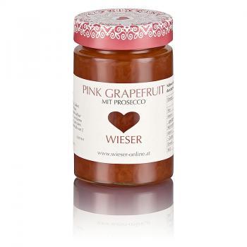 Pink Grapefruit mit Prosecco Fruchtaufstrich 235 g