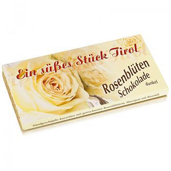 Rosenblüten Schokolade 100 g